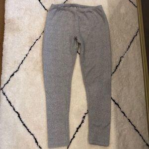 Gilligan & OMalley light grey coziest leggings